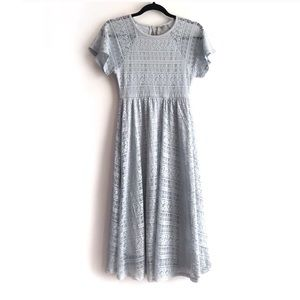 Asos | Lace Midi Skater Dress
